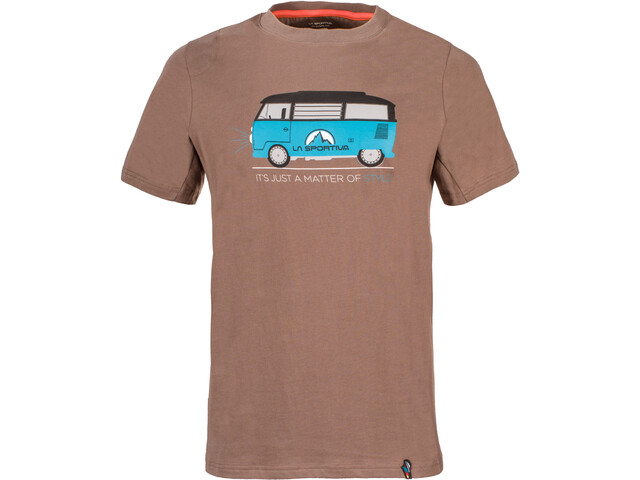 La Sportiva Van T-Shirt Men Falcon Brown